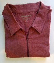 Woolrich NWT Long Sleeve Cotton 1/4 Zip Shirt 3X Dry Soft w/ Hidden Hip ... - $28.40