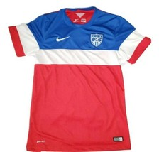 Nike Dri Fit Authentic 2014 US Soccer Football World Cup Jersey USA Size Small - $84.14