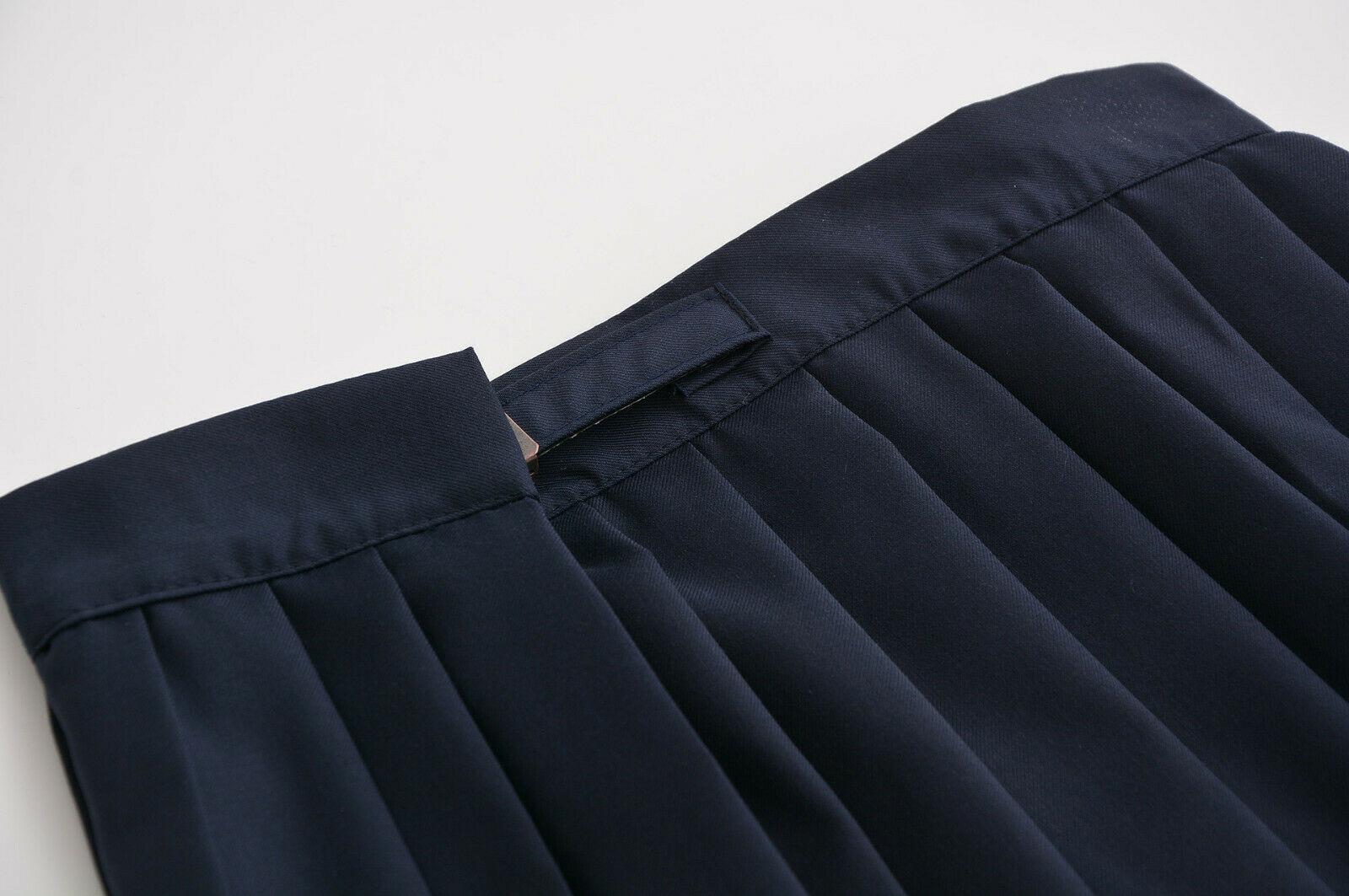 Japanese JK School Girl School Uniform Outfit Pleated Skirt Dress Academic Style