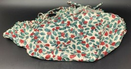 LONGABERGER Traditional Holly 212537 CAKE BASKET FABRIC LINER Only 19-1642F - $18.99