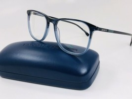 New Lacoste L2823 424 Blue Fade Eyeglasses 52mm with Lacoste Case - $89.05