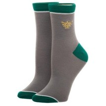The Legend Of Zelda Video Game Embroidered Anklet Ankle Socks - $7.99