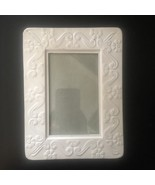 """SHABBY CHIC White Metal Picture Frame 8"""" x 6"""" VINTAGE Farm House FRENCH ... - $8.99"""
