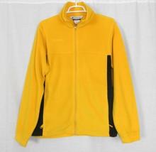 Columbia Zip-Front Yellow & Navy Zip Front Fleece Jacket Youth Boys 18-20 - $11.65
