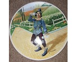 1977 Wizard Of Oz IF ONLY I HAD A BRAIN Scarecrow Knowles Collector Plate COA