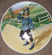 1977 Wizard Of Oz IF ONLY I HAD A BRAIN Scarecrow Knowles Collector Plat... - $14.00