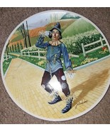 1977 Wizard Of Oz IF ONLY I HAD A BRAIN Scarecrow Knowles Collector Plate COA - $14.00