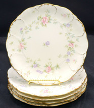 Mikasa Remembrance * 5 SALAD PLATES * Small Flowers, Excellent! - $52.46