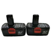 Craftsman Battery Charger 1323903 with 2 Batteries 19.2 VOLT  - $56.09
