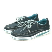 GH Bass Nantucket Blue Mens 7M Boat Shoes Topsiders - $23.75