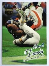 Terrell Davis 1998 Fleer Ultra #16 Sensational Sixty Denver Broncos NFL Card - $0.99