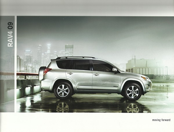 2009 Toyota RAV4 sales brochure catalog 09 US RAV 4 Limited