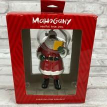 Hallmark Mahogany African American Jolly Santa Pere Noel Christmas Ornament  - $14.49