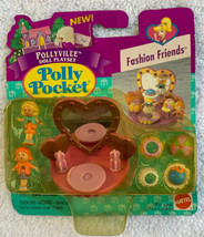 1996 Vintage Polly Pocket RARE Fashion Friends Bluebird Toys NIP New & Sealed - $98.99
