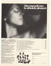 1975 Love Garden Sensuous Cosmetics Advertisement - $16.00