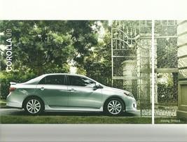2009 Toyota COROLLA sales brochure catalog 09 US XLE S XRS - $7.00