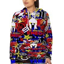 Jorge Lorenzo Racing Stickerbomb    Hoodie Fullprint for women - $40.99+