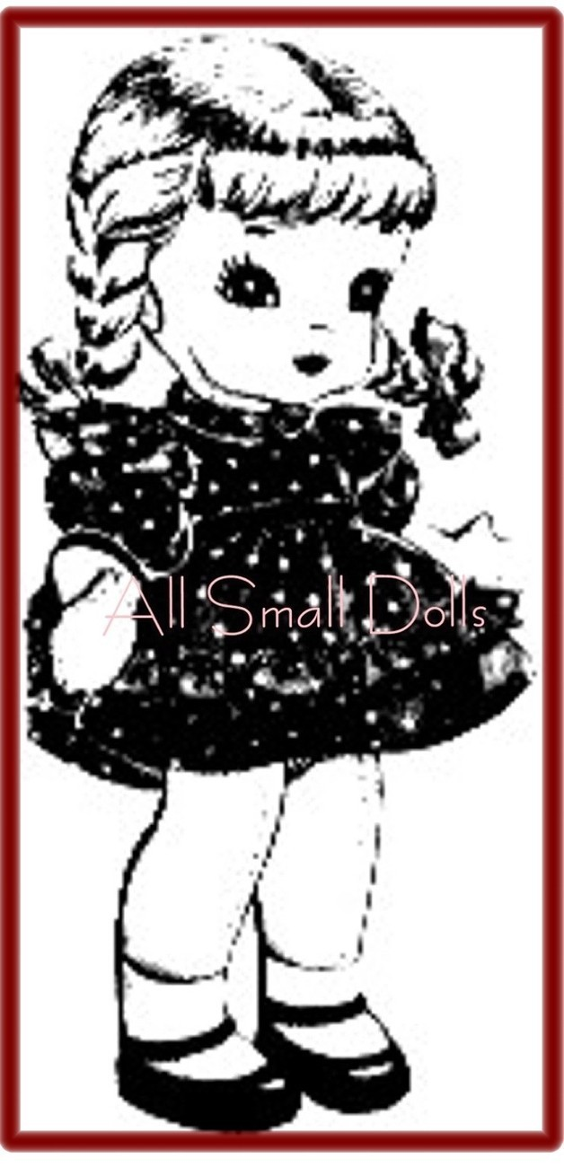 "Primary image for Vintage Doll Pattern for 15"" Cloth Doll and Clothing"