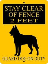 1739 GERMAN SHEPHERD DOG SIGN,9 X 12 ALUMINUM SIGN,SECURITY,WARNING, - $14.71