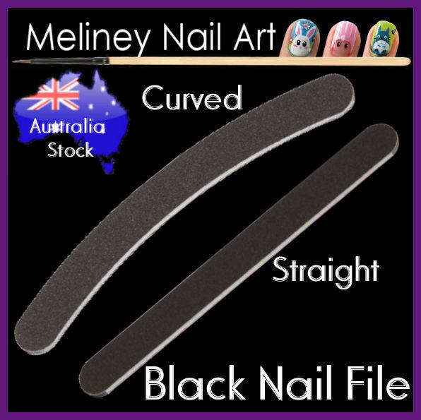 Black nail files sanding buffer manicure art and similar items