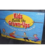KIDS BATTLE THE GROWN-UPS Board Game NEW IN BOX! 2002 - $24.96