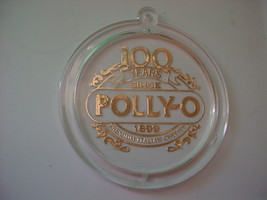 POLLY-O ITALIAN CHEESES 100 YEARS 1899-1999 CHRISTMAS ORNAMENT FREE USA ... - $14.01