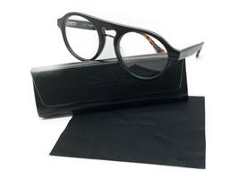 New Calvin Klein Ck 5926 001 Shiny Black Authentic Eyeglasses Rx 53-20 W/CASE - $48.47
