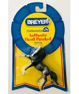 Mustang Breyer Stablemates Rearing Andalusian Horse Blue Roan New on Car... - $19.34