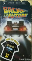 Men's Back To The Future Funko Home Video VHS Boxed Short Sleeve Tee Exclusive