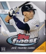 2018 Topps Finest Baseball Singles 1 - 100 Pick a Player Economy Shipping - $0.98+