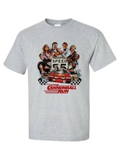 The Cannonball Run t shirt Burt Reynolds 1980s retro movie Smokey and the Bandit image 2