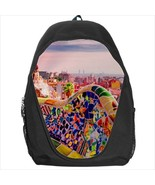 backpack bookbag park guell barcelona souvenir - $41.00