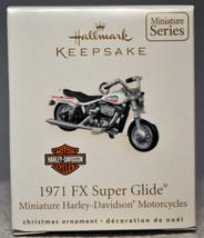 Hallmark - 1971 FX Super Glide - Miniature Motorcycle - Harley Davidson ... - $11.61