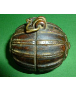 Antique Indian Bronze Betel Nut Box Circa 1860 ... - $110.00