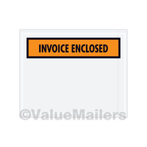 1000 4.5x5.5 (Invoice Enclosed front / Invoice Enclosed Packing List Env... - $24.95