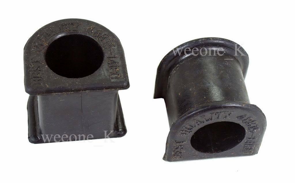 Rubber Front Sway Bar Bushings For Toyota Hilux MK3 Pickup 1989-1997 - $13.75