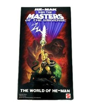 He-Man and the Masters of the Universe VHS Tape The World of He-Man 2002 MOTU - $9.89