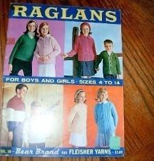 Bernhard Knit Raglans For Boys & Girls Sizes 4 to 14   1964