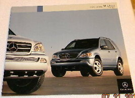 2004 Mercedes Ml 500 Ml 350 Sales Brochure New Original - $12.86
