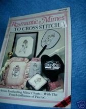 Romantic Mimes to Cross Stitch Booklet Plaid - $5.00