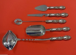 Lucerne by Wallace Sterling Silver Cocktail Party Bar Serving Set Custom Made - $289.85