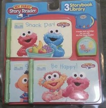 New! My First Story Reader 3 Storybook Library Sesame Street Elmo (2005) AA92 - $11.64