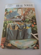 Vogue Accessories Sewing Pattern Uncut V7887 Garden Hat Bag Apron Garden... - $9.99