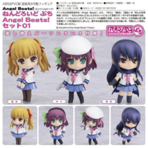 Nendoroid Petite: Angel Beat! Series #01 Action Figure Set of 3 Brand NEW! - $49.99