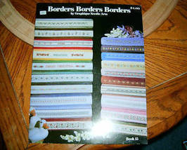 Borders Borders Borders Book 15 Graphique Needle Arts - $5.00