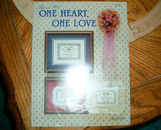 Studio Seven, One Heart, One Love Cross Stitch image 1