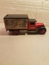 American Classic Case Truck Bank Ertl Christmas Seasons Greetings With Key - $17.81