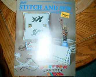 Lily Stitch & Sew Counted Cross Stitch Vol. 703