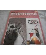 Step-By-Step Macrame Book - $10.00