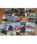 Railfan & Railroad Lot 26 Mags Trains Railroadi... - $21.94